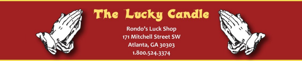 THE LUCKY CANDLE - From Rondo's Temple Sales